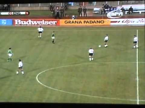 Gary Lineker has a shit in the middle of the pitch 1990