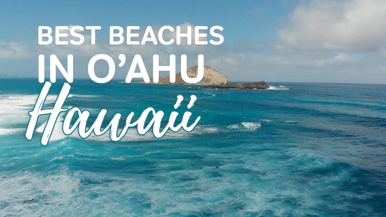 Top 3 Best Beaches in Oahu | Visiting Lanikai Beach, Makapuu and Sandy Beach Drone Footage