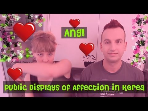 TL;DR - Public Displays of Affection in Korea