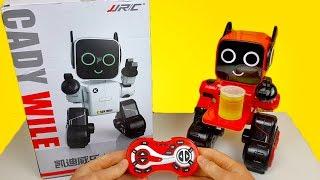 Мимишный Танцующий Робот JJRC R4 CADY WILE / Распаковка и обзор / Посылка с Taobao