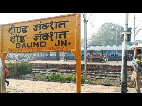 Golden Hour Daund Junction: Arrival, Reversal,Departure!! Indian Railways!!