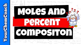 How to Calculate Percent Composition and Moles of Carbon - Mr. Causey
