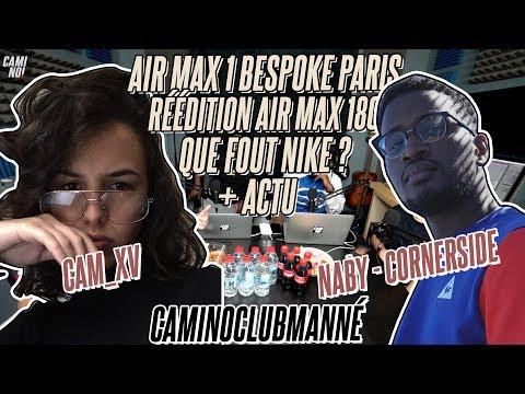 AIR MAX 1 BESPOKE Paris w/ CAM_XV Gagnante NIKEiDDESIGNER &  & Naby de Cornerside #CAMINOCLUBMANNE
