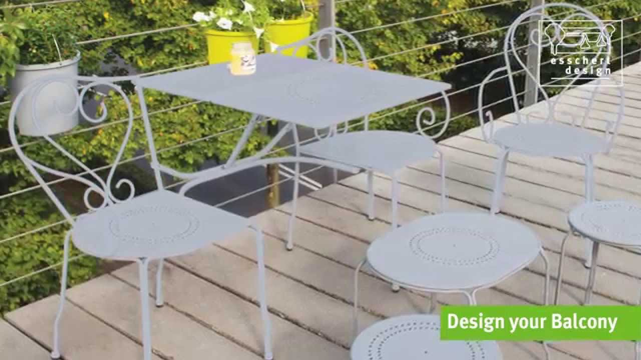 Das 5-teilige Gartenmöbel-Set (grau) jetzt bei Danto.de - YouTube
