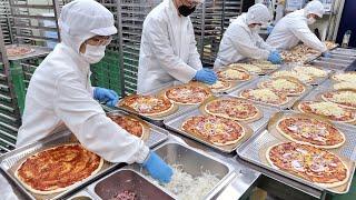 Гигиенично! Корейский завод массового производства, пицца, свиная котлета, кимчи | Корейская еда
