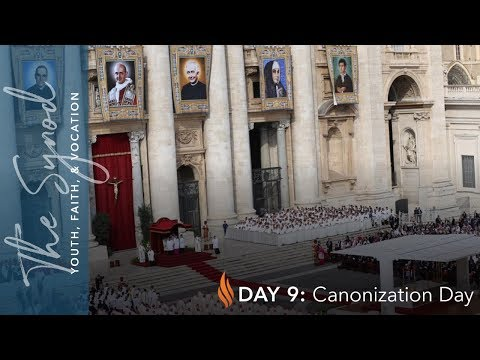 Word From Rome - Day #9 - Canonization Day