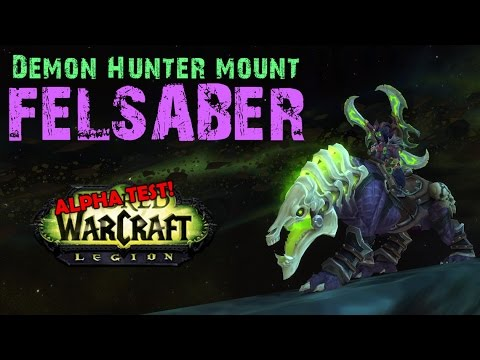 how to get the hunter class mount