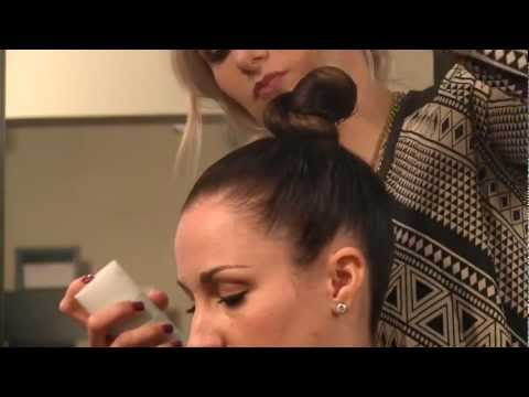 Grammy Hair: J. Lo's Twisted Top Knot