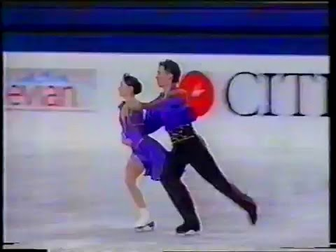 Ekaterina Davydova & Roman Kostomarov RUS - 1996 World Junior Championship OD