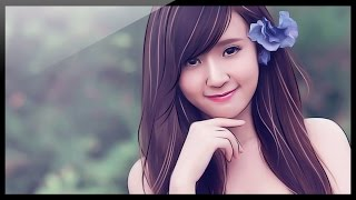 Photoshop Tutorial - How to create a painting girl Chinese style