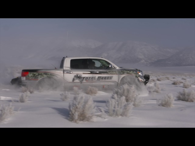 2007 Toyota Tundra Long Travel in the snow