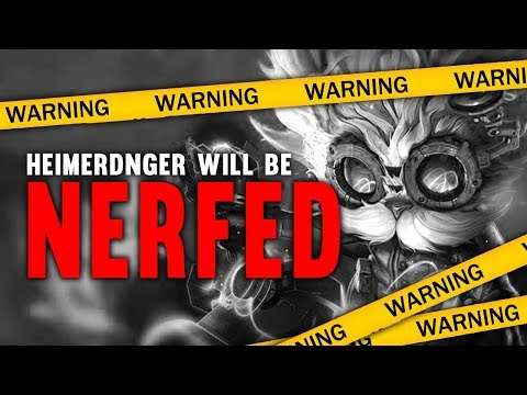 Imaqtpie - HEIMERDINGER IS GETTING NERFED!