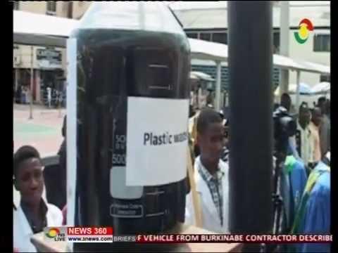 Kumasi polythenic convert plastic waste to fuel