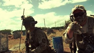 Airsoft War @ Hawaii All-Star Paintball - 9/28/13