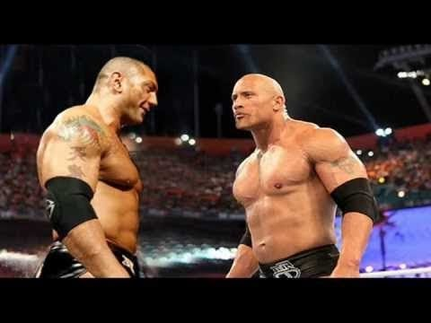 Batista Returns To WWE  And meet The Rock 2013 ---Edited