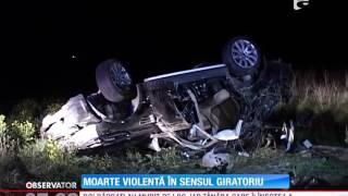Accident rutier grav în judeţul Arad!