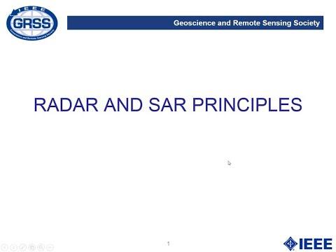 3. Radar and SAR Principles
