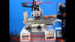 Stock #5431 - Harig Bridgeport Surface Grinder