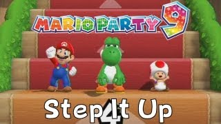 Mario Party 9 - Step it Up (3 players, 1vs2, 5 wins)