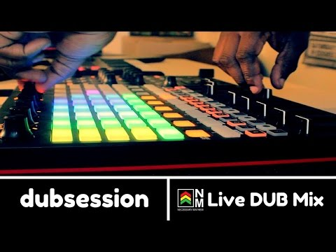 Curtis Lynch: Live Dub Performance w/ Ableton Live + Akai APC40 MKII 'Blood Thirsty Dub'  [2017]