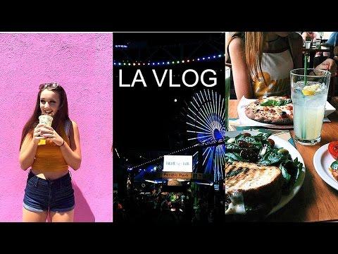 LA VLOG ♡ - WEEKEND IN LA & SANTA MONICA !!