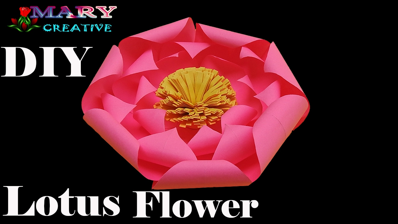 How to make paper lotus flower simple and easy to make lotus how to make paper lotus flower simple and easy to make lotus flower origami 28 dhlflorist Image collections