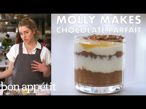 Molly Makes Dark Chocolate Chia Parfait | From the Test Kitchen & Healthyish | Bon Appétit