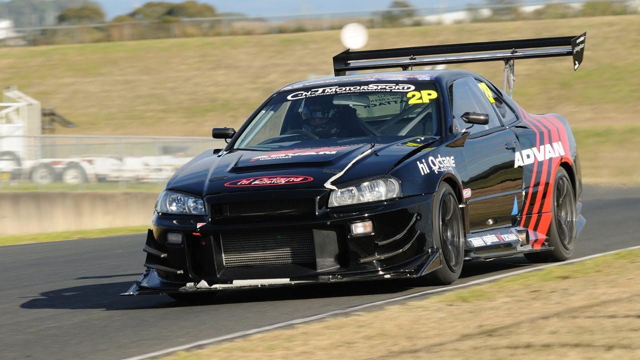 Time Attack Advan Nissan Gt R S Youtube