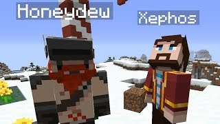 How to actually survive the first night in Minecraft ft. Yogscast Lewis and Simon