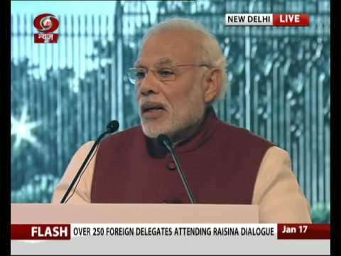 PM Narendra Modi's address at 2nd Raisina Dialogue