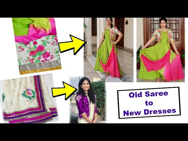 How I Converted & Used My Old Sarees for My Brother-in-laws Wedding | Ideas to Use Old Sarees