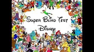 Super Blind Test Disney (120 titres)