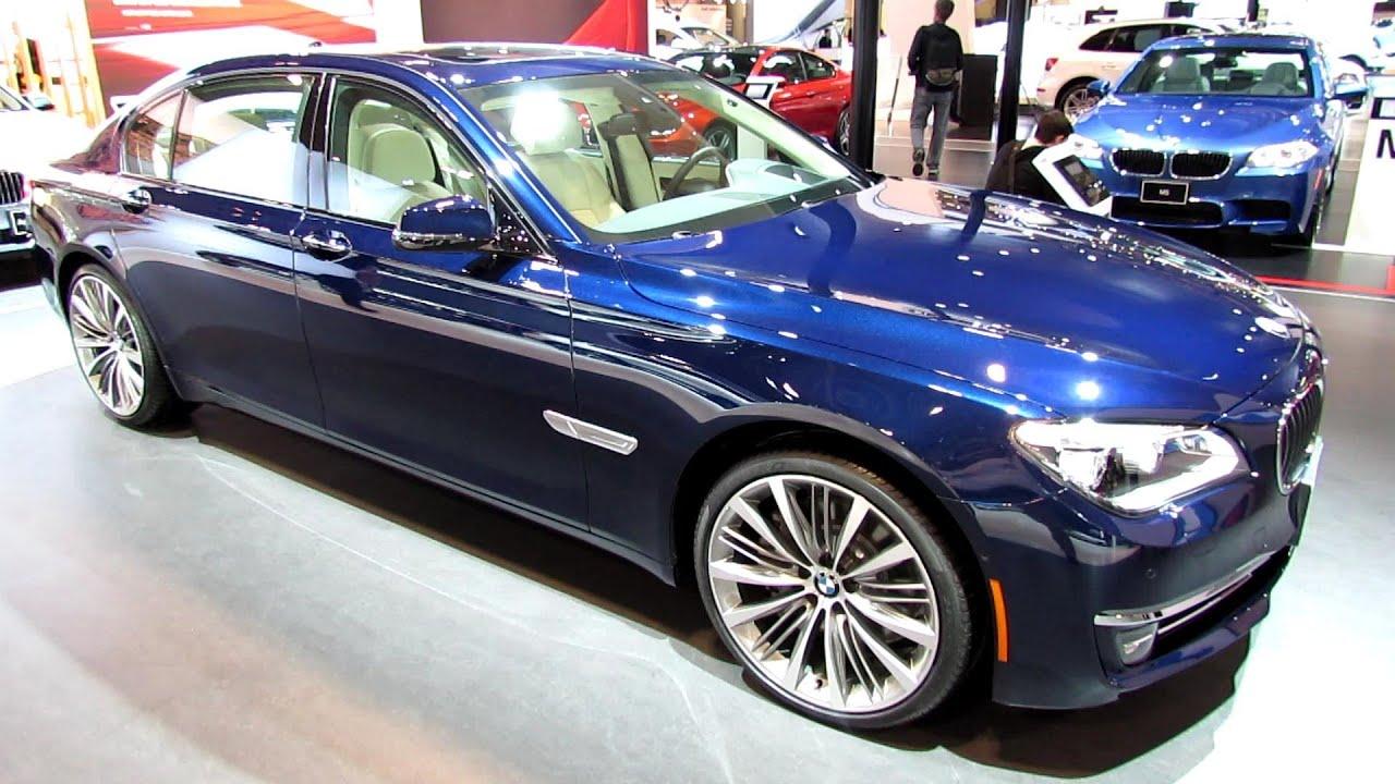 2013 Bmw 750li Exterior And Interior Walkaround 2013 Toronto Auto Show 2013 Cias Youtube