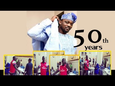 PASUMA  DROP NEW ALBUM  FOR 50TH YEARS BIRTHDAY,HE ENTERTAINED  FRIENDS WITH HIP HOP MUSIC