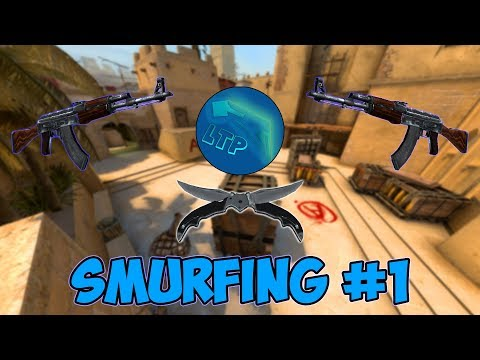 CS:GO Stream - Smurfing #1 W/ HiddenEvil