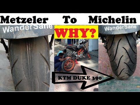 my metzeler tyre lasted 24,000kms | how? | ktm duke 390 | changed