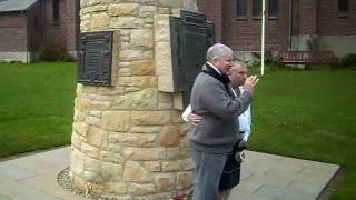 Contalmaison Memorial Ceremony, 5th November 2011