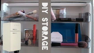 DIY Makeup Storage Ideas | Best Way To Organize Makeup!