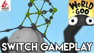 World of Goo Switch Gameplay