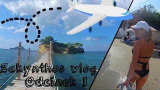 Zakynthos 2018 Pierwszy dzień na wyspie ! Vlog wakacyjny z Zante!