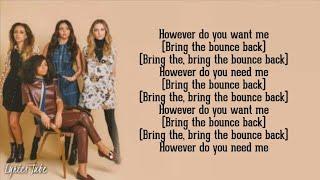 Little Mix - Bounce Back (Lyrics)