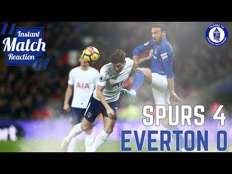 Tottenham hotspur 4-0 everton | no shots on target again!