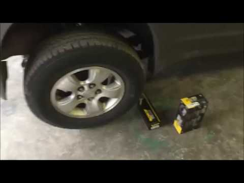 2002 mazda tribute  rear shock replacement