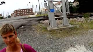 Railfan Finally Loses His Patience and Freaks Out!