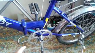 Электровелосипед С Двигателем От Шуруповёрта Часть 2