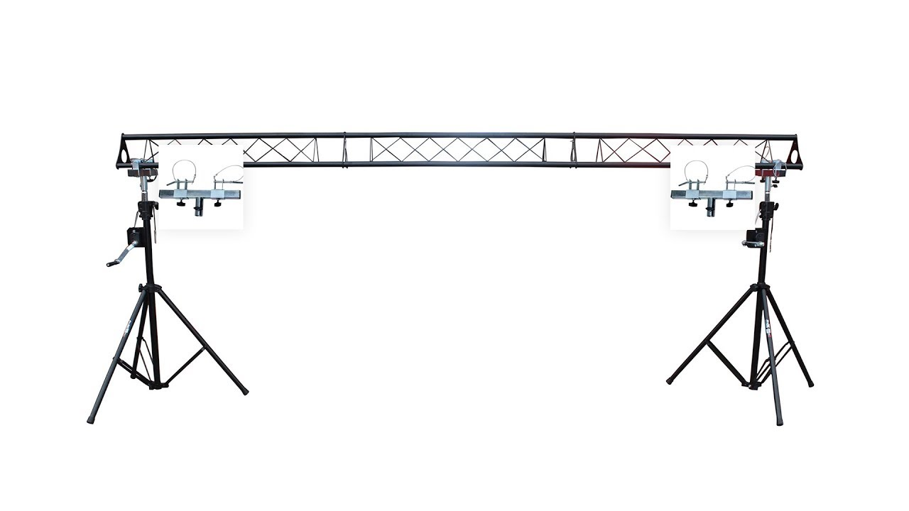 Prox T Ls35c Crank Up System Lighting Triangle Truss 5ft 10ft 15ft Wide