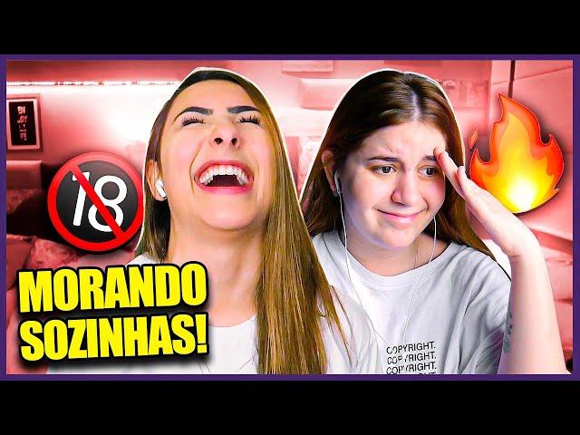 DUAS YOUTUBERS MORANDO SOZINHAS ft. Sofia Santino