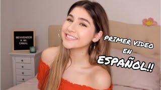 MI PRIMER VÍDEO EN ESPAÑOL!! (MY FIRST VIDEO IN SPANISH!!)  | Karolaine