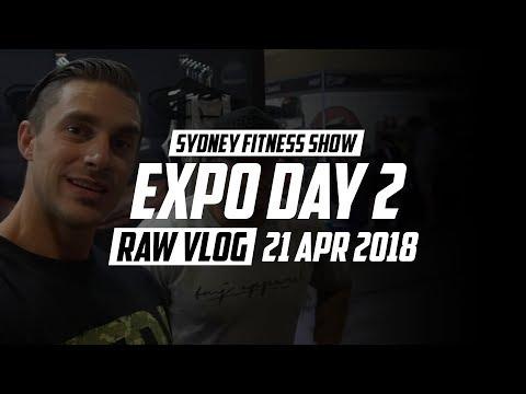 Sydney Fitness Show FILEX 2018 | Expo Day 2 | RAW VLOG 21 Apr 2018