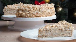 Торт «Наполеон» - быстрый и вкусный рецепт любимого торта